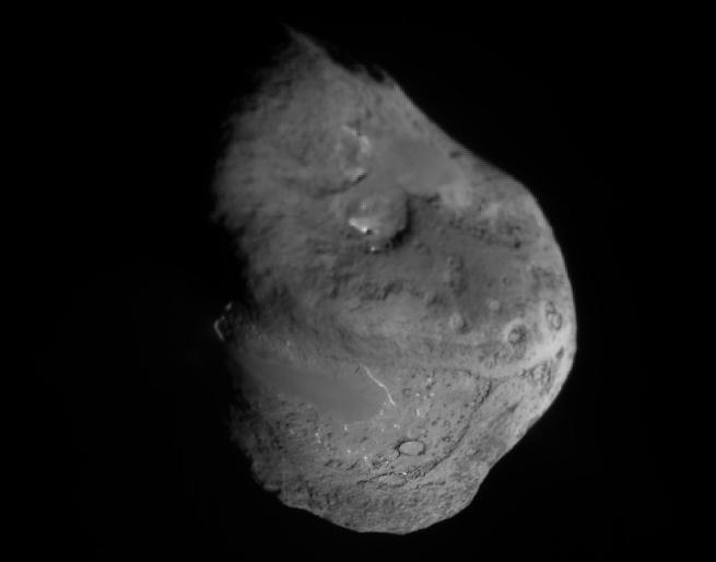 El núcleo del Cometa Tempel 1