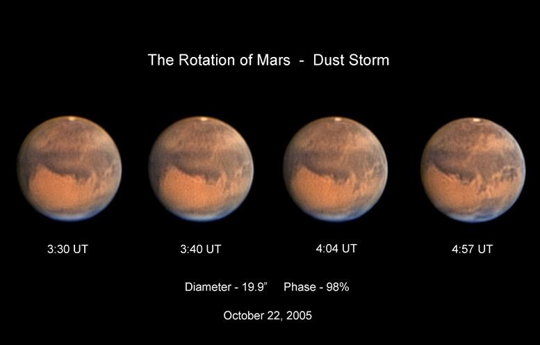 Marte en octubre