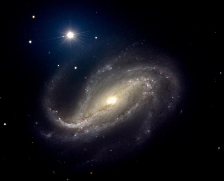 NGC 613: Espiral de Polvo y Estrellas