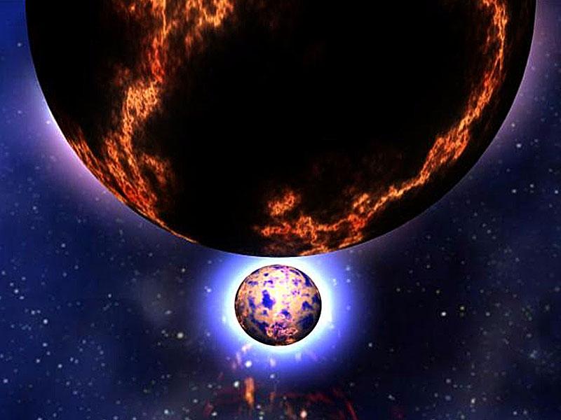 Corto Gamma Ray Bursts localizada