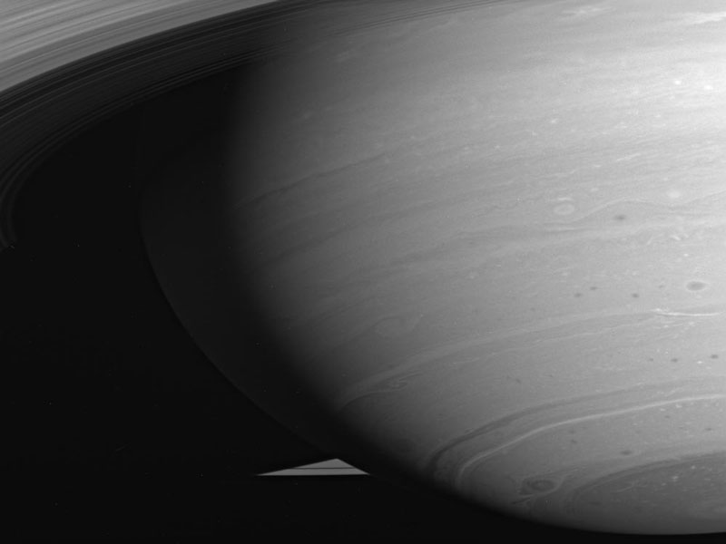 A Tempestade de Saturno