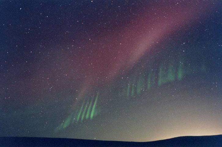 Los rayos de una aurora inesperada
