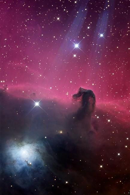 Reflejos en la Nebulosa Cabeza de Caballo