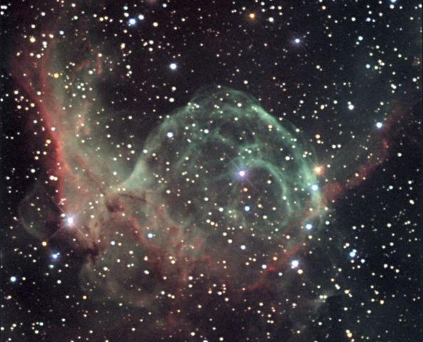 NGC 2359: El casco de Thor