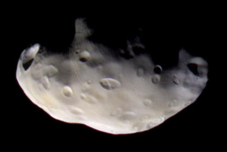 Pandora: un satélite pastor de Saturno
