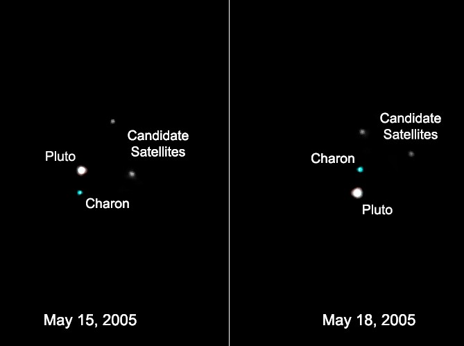 Posibles Lunas de Plutón