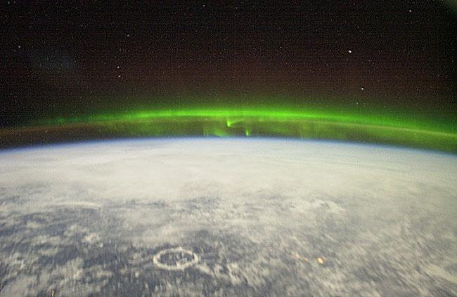 Aurora desde el espacio