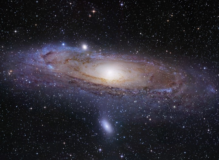 The M31 Andromeda Galaxy, the most distant object easily visible to the naked eye, NASA/JPL