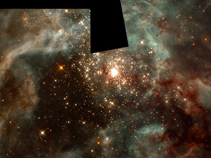 R136 La masiva Estrellas, de 30 Doradus