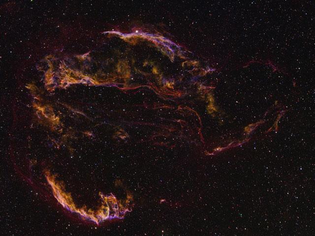 La Nebulosa del Velo, desvelada