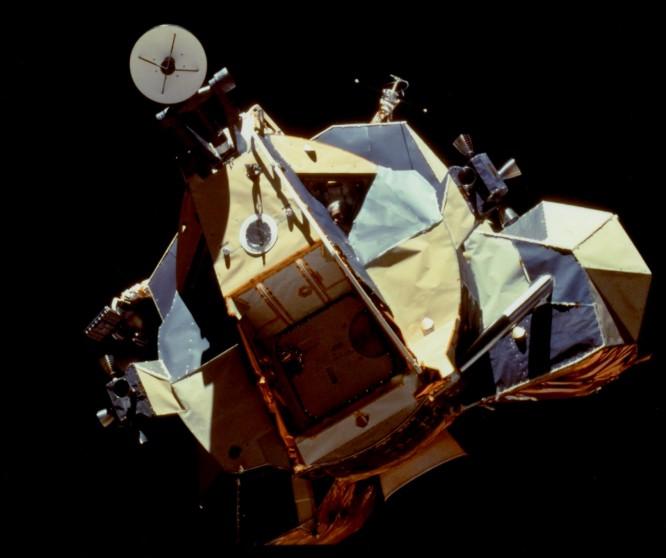 El módulo lunar del Apolo 17