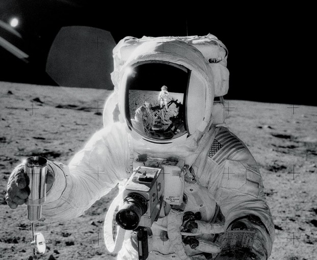 Apollo 12 Self-Portrait