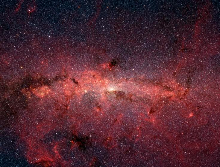 Las estrellas del centro galáctico