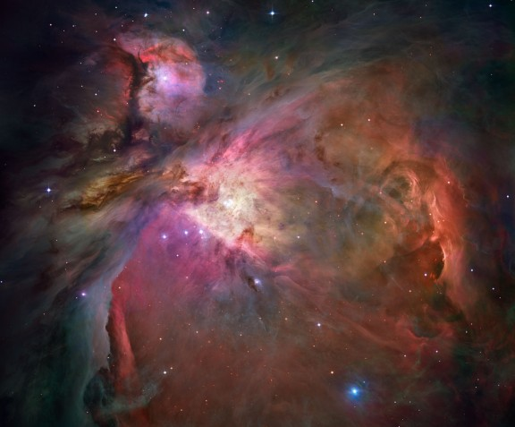 Orion Nebula, The Hubble Ver