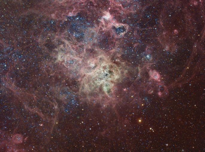 La nebulosa Tarántula