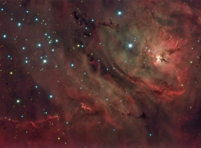 M8 Nebulosa de la Laguna de La