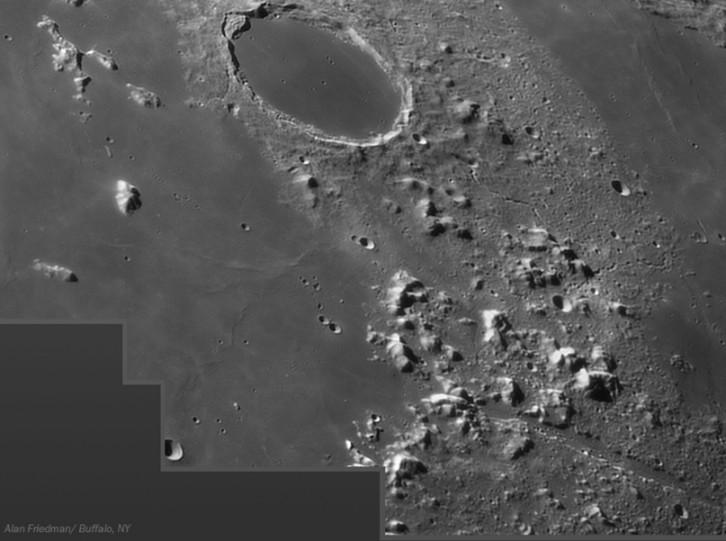 Platón y los Alpes lunares