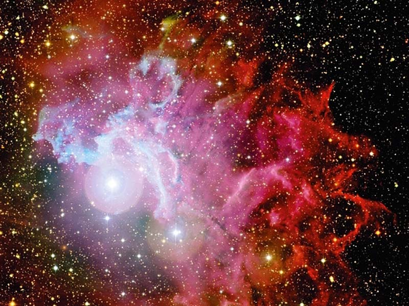 O Flaming Star Nebula CFHT