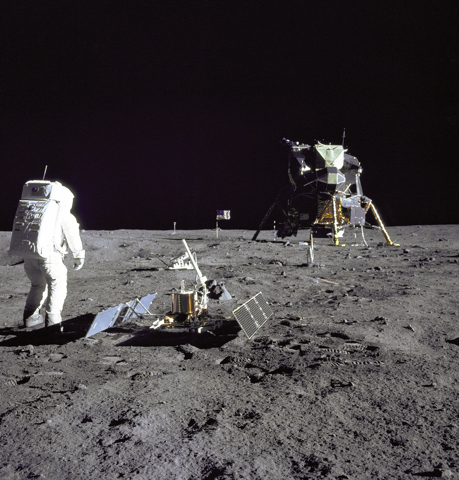 APOD: 2006 March 27 - Moonquakes Surprisingly Common