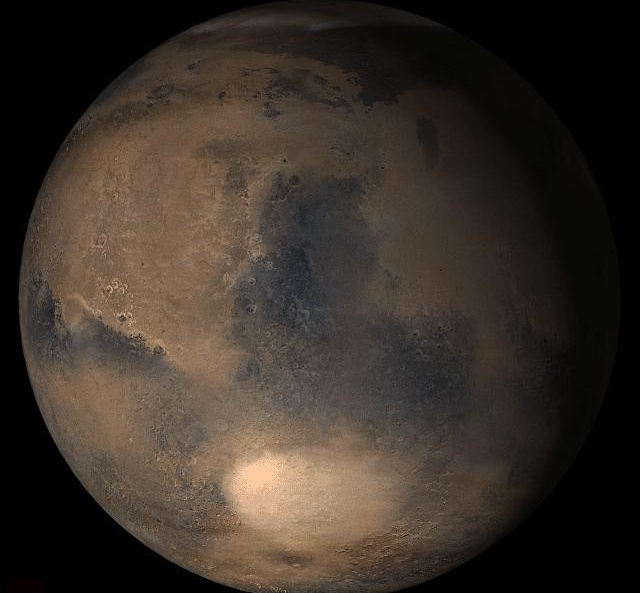 Del Norte de primavera en Marte