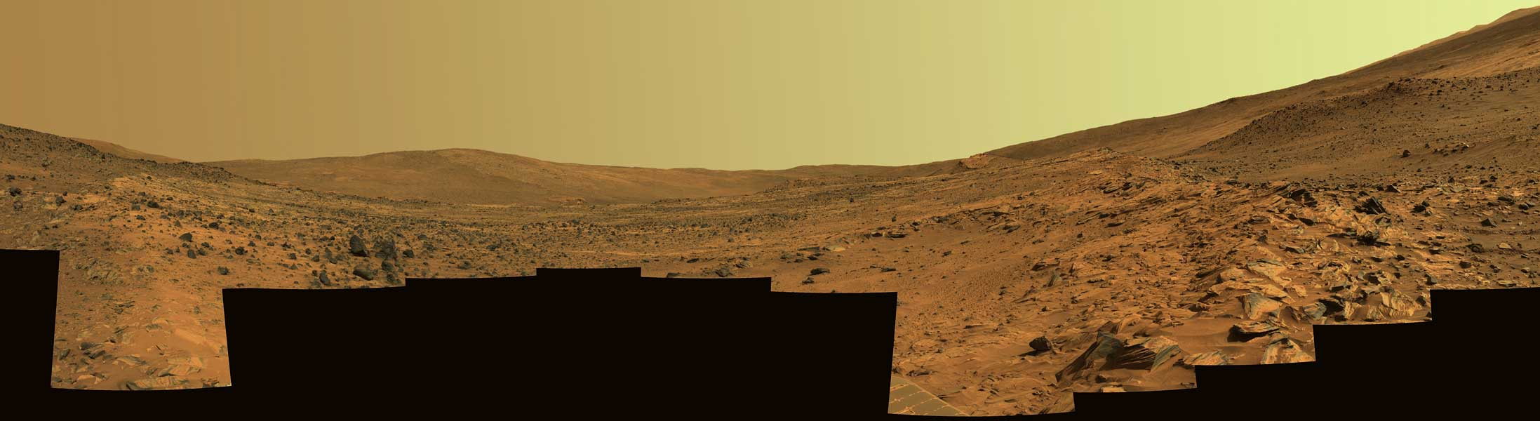 McCool Hill en Marte