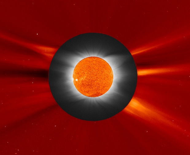 Eclipse Solar SOHO y