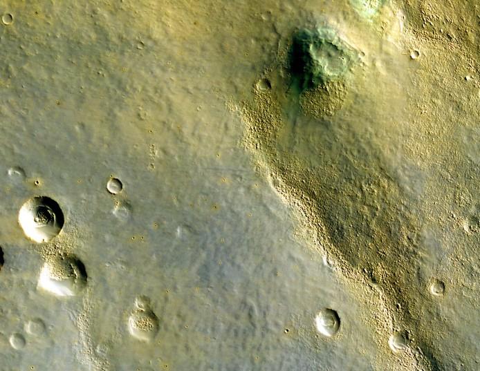 Marte La Vista desde HiRISE