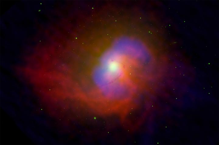 NGC 4696: Energía desde un agujero negro