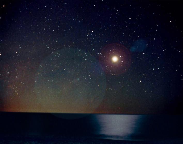 Supernova 1006 AD en el cielo