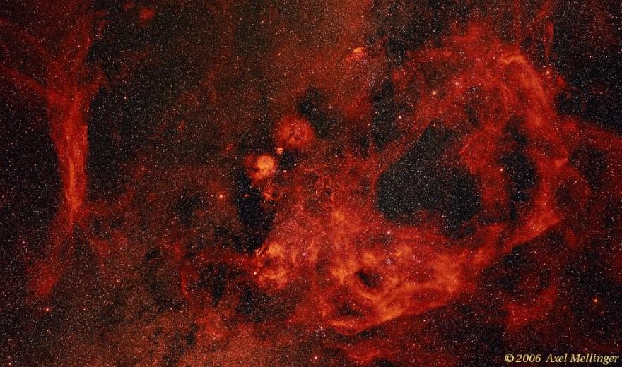 La nebulosa Gum