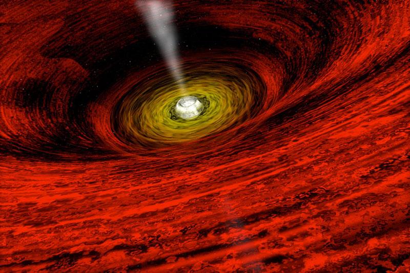 GRO J1655-40: evidencia de un agujero negro rotante
