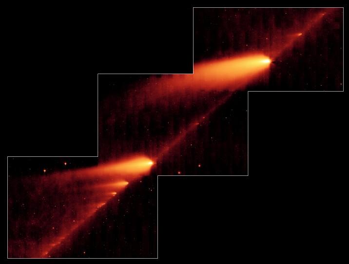 Desmoronando Comet