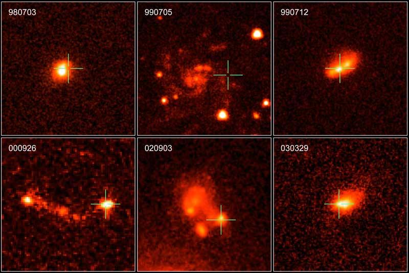 Las galaxias anfitrionas de GRB de larga duración