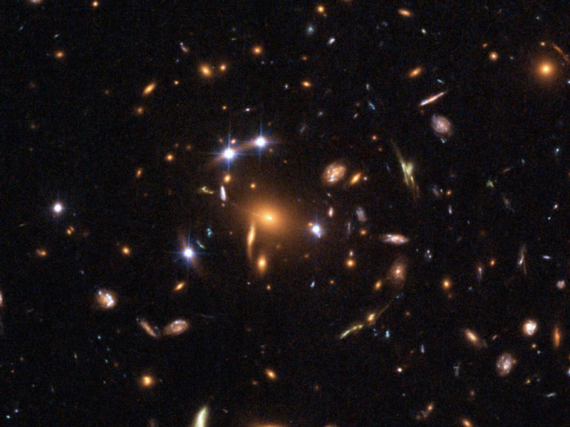 Quasar lente gravitacional