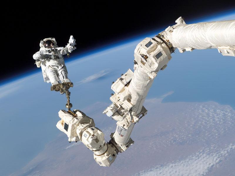 Maniobrando en el espacio