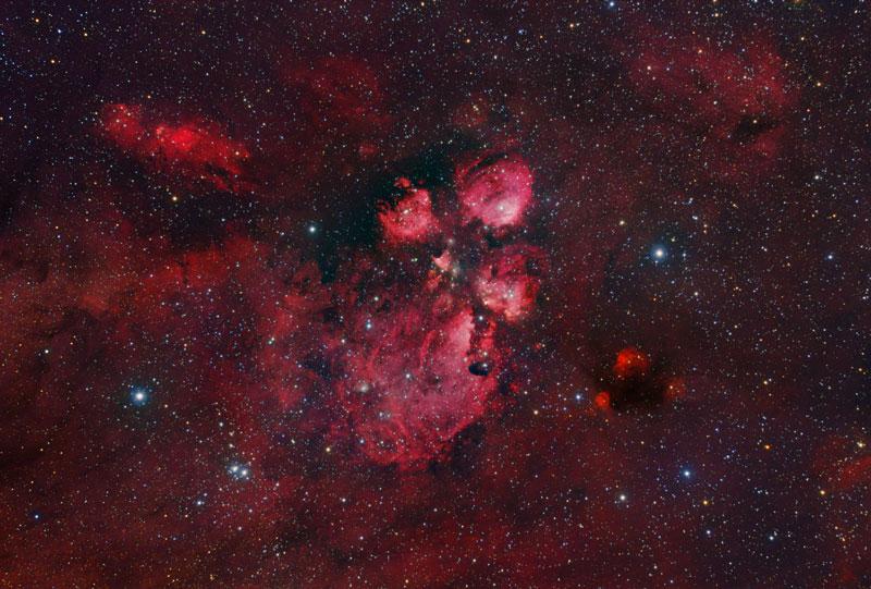 Nebulosa pata de gato