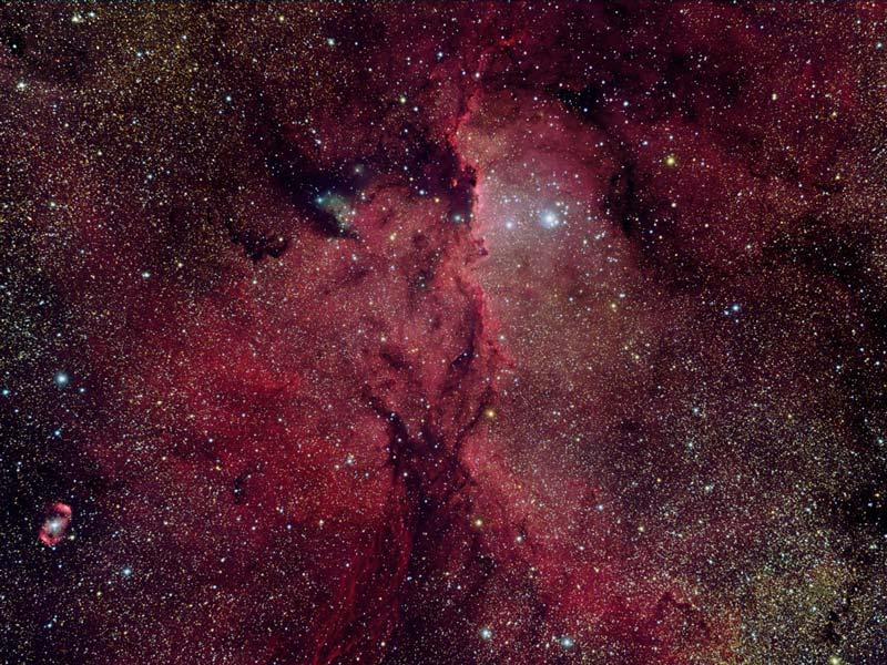 Reflejos en la NGC 6188
