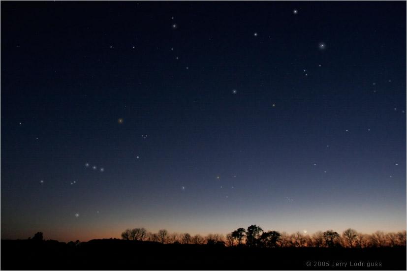 Retrato de constelaciones