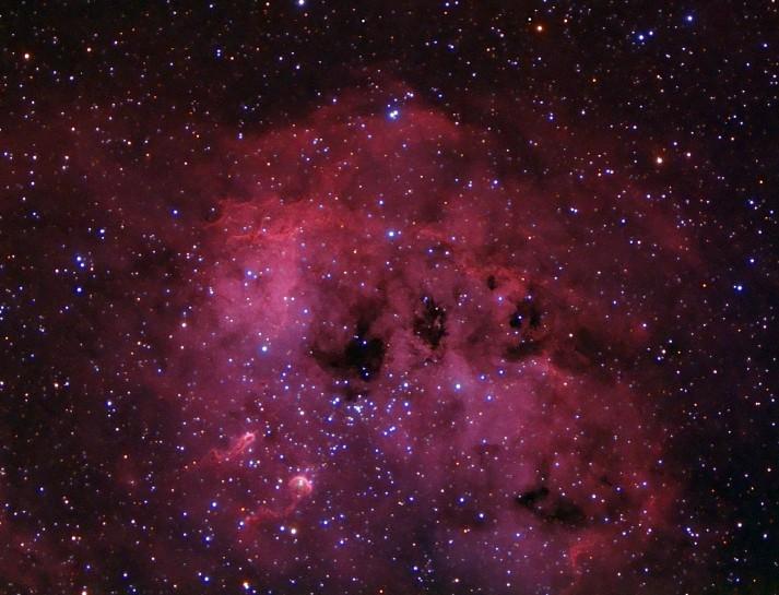 IC 410 a NGC 1893