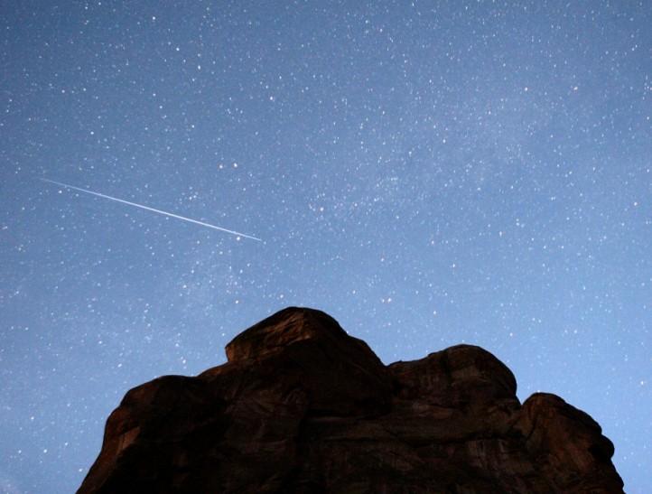 Polvo de cometa sobre Colorado