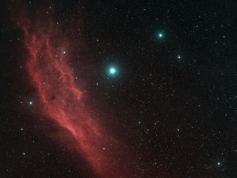 NGC 1499: la nébula de California