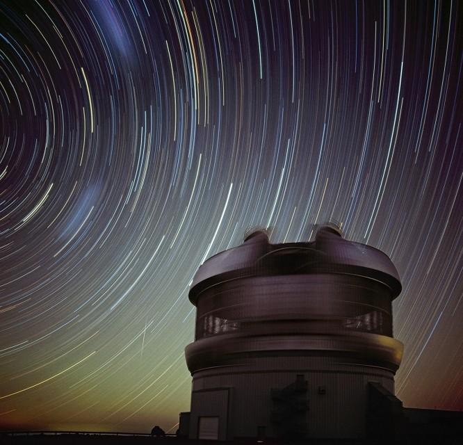 Trazos estelares en Géminis Sur