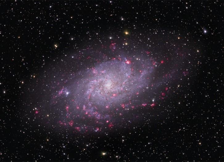 M33: Galaxia Espiral en el Triángulo
