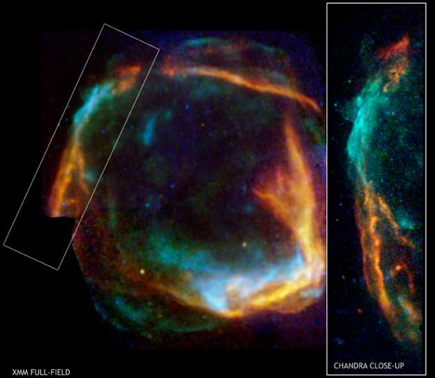 RCW 86: Restos de supernova histórica