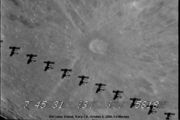 Cruzando la Luna llena