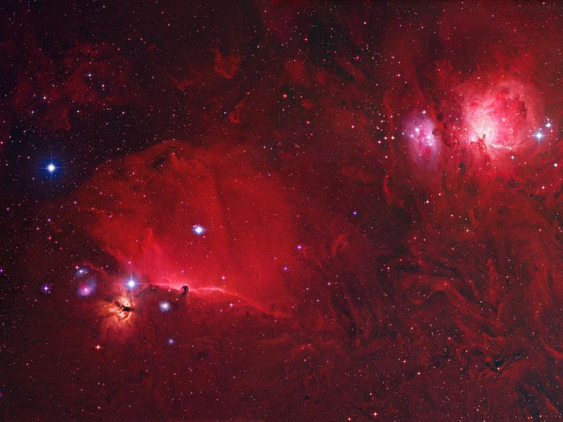 Una vista profunda de Orión