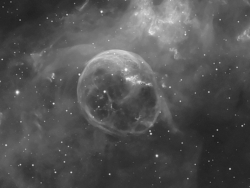 NGC 7635: la Burbuja