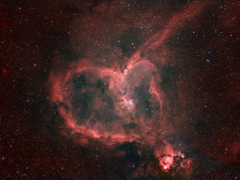 Luz de la Nebulosa del Corazón