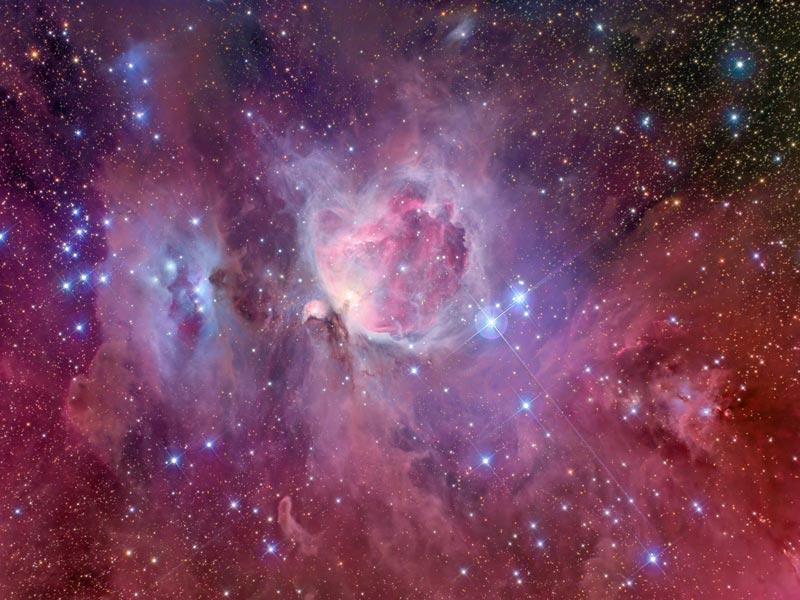 M42: Espirales de la Nebulosa de Orión