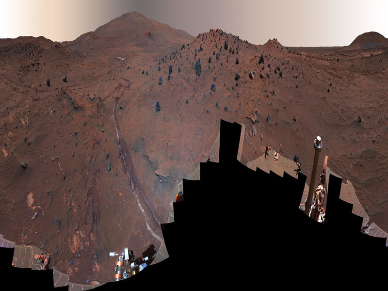 Panorámica de McMurdo desde Marte